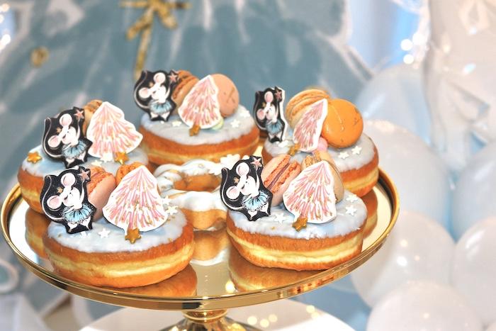 Arctic Doughnuts from an Arctic Wonderland Birthday Party on Kara's Party Ideas   KarasPartyIdeas.com (21)