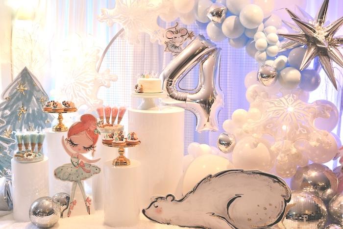Arctic Wonderland Birthday Party on Kara's Party Ideas   KarasPartyIdeas.com (19)