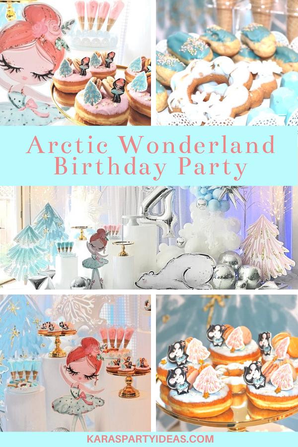 Arctic Wonderland Birthday Party via Kara's Party Ideas - KarasPartyIdeas.com