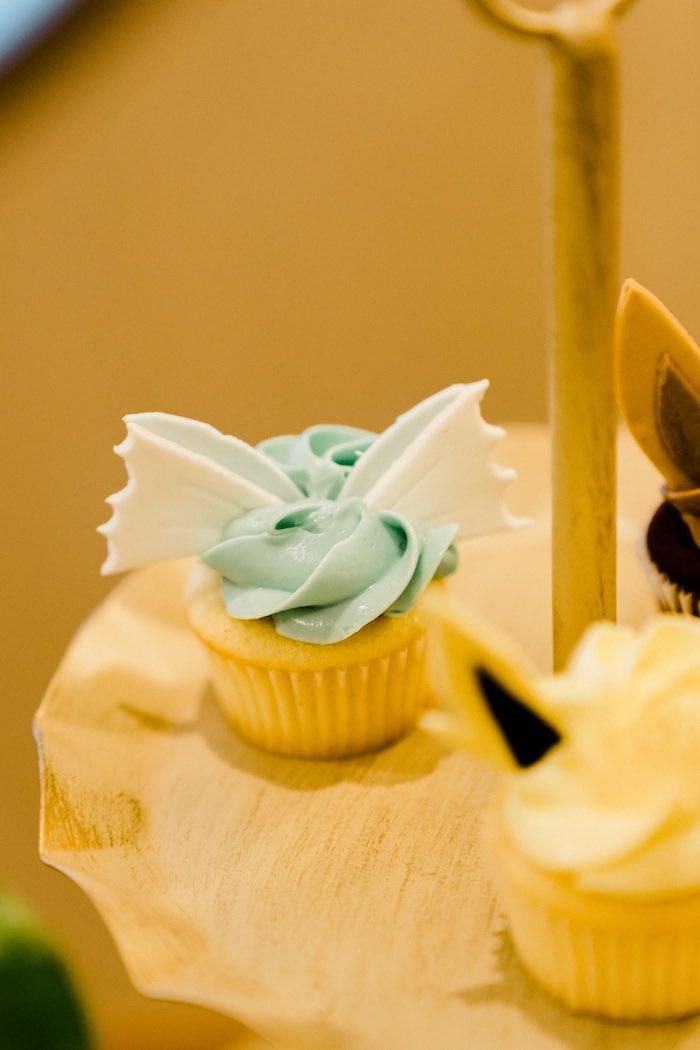Pokemon Character Cupcake from a Boho Pokemon Birthday Party on Kara's Party Ideas | KarasPartyIdeas.com (34)