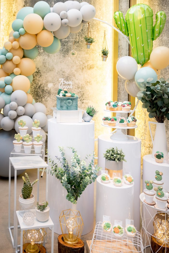Cactus & Succulent Birthday Party on Kara's Party Ideas | KarasPartyIdeas.com (8)