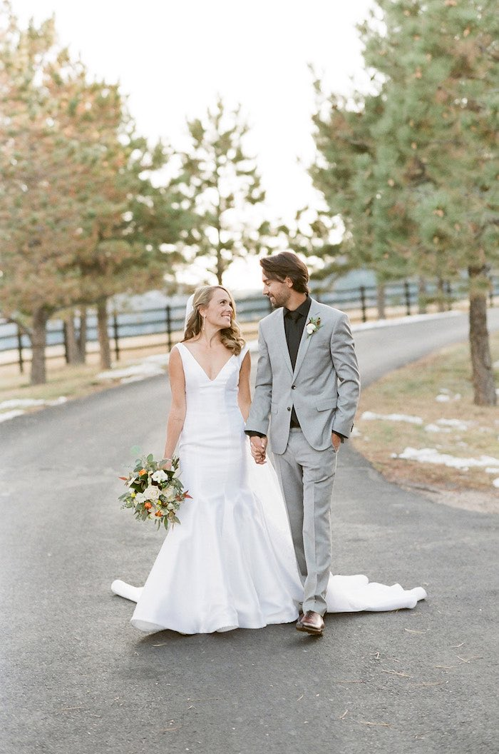 Country Winter Lodge Wedding on Kara's Party Ideas | KarasPartyIdeas.com (19)