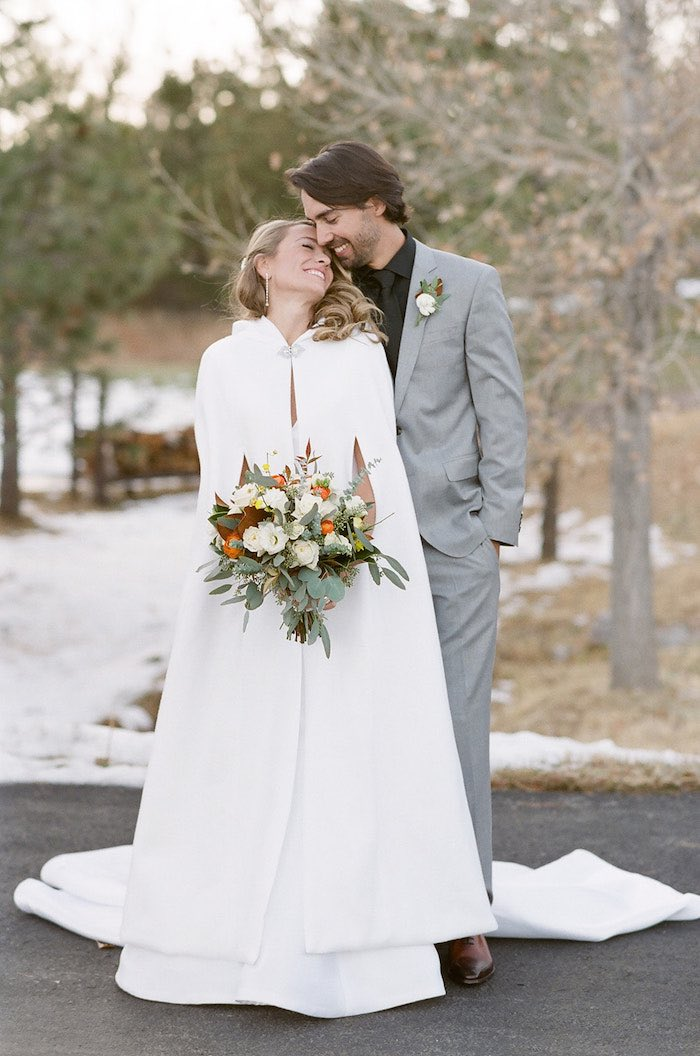Country Winter Lodge Wedding on Kara's Party Ideas | KarasPartyIdeas.com (18)
