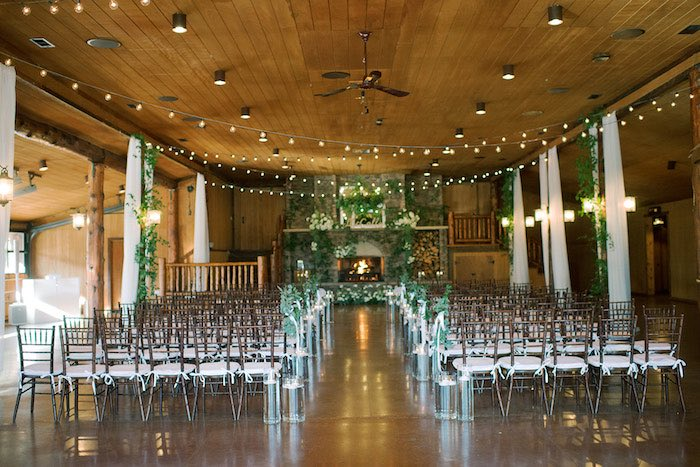 Country Winter Lodge Wedding on Kara's Party Ideas | KarasPartyIdeas.com (6)