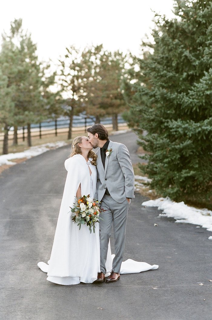 Country Winter Lodge Wedding on Kara's Party Ideas | KarasPartyIdeas.com (32)