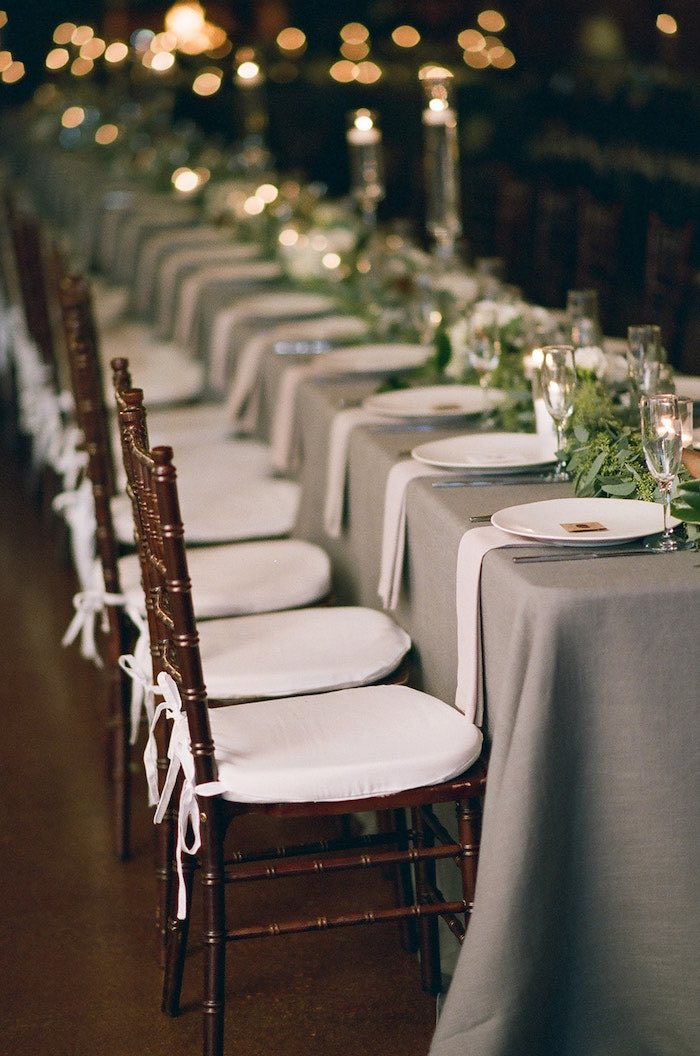 Guest Tablescape from a Country Winter Lodge Wedding on Kara's Party Ideas | KarasPartyIdeas.com (29)