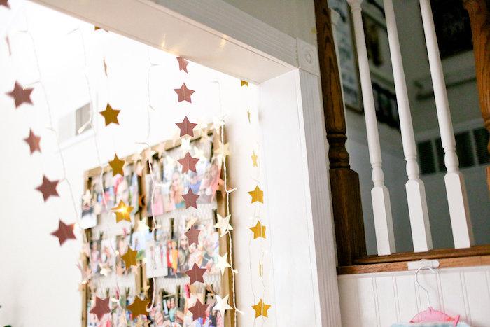 Star Bunting from a Dolly & Me Sleepover on Kara's Party Ideas | KarasPartyIdeas.com (43)