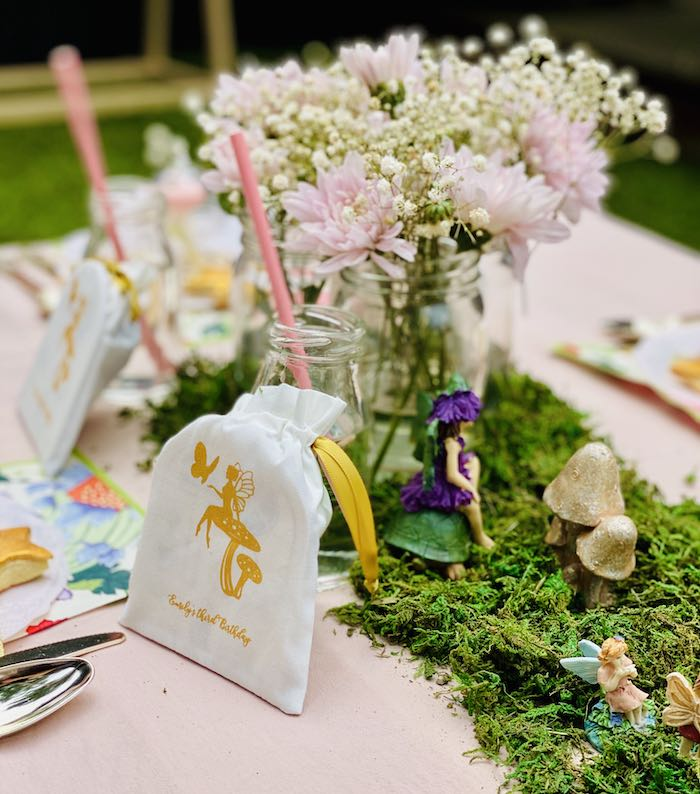 Fairy Bag from a Fairy Garden Birthday Party on Kara's Party Ideas | KarasPartyIdeas.com (15)