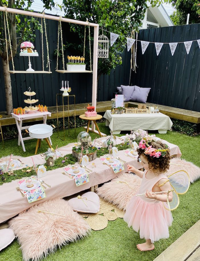 Fairy Garden Birthday Party on Kara's Party Ideas | KarasPartyIdeas.com (12)
