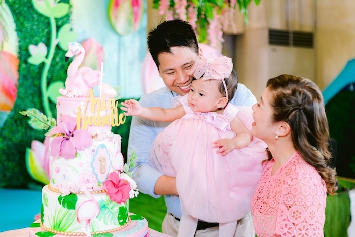 Flamingo Birthday Party on Kara's Party Ideas | KarasPartyIdeas.com (21)