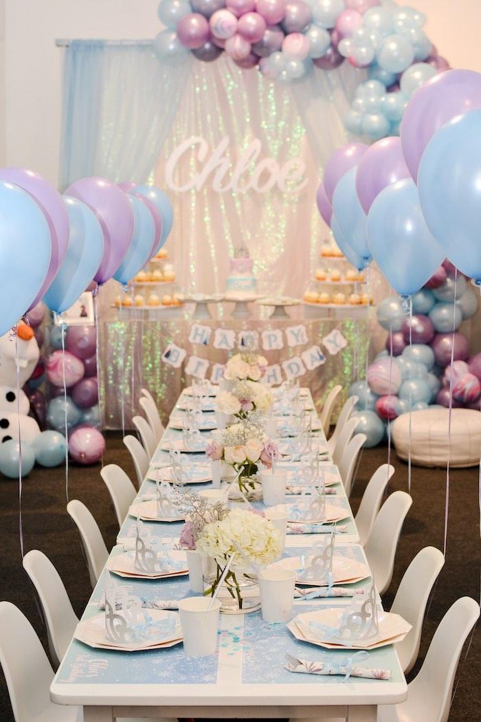 Frozen Birthday Party on Kara's Party Ideas | KarasPartyIdeas.com (24)