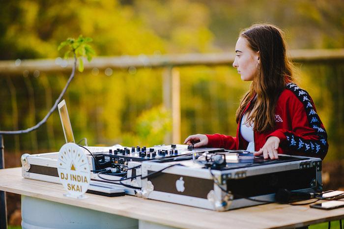 DJ Station from a Glamchella Boho 21st Birthday Party on Kara's Party Ideas | KarasPartyIdeas.com (20)