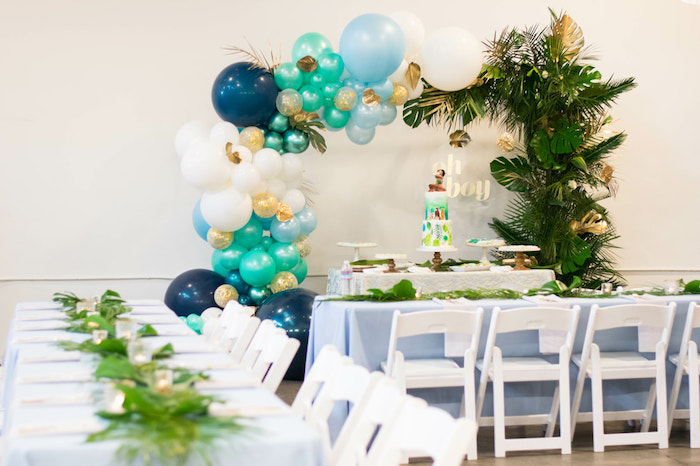 Island Baby Shower on Kara's Party Ideas | KarasPartyIdeas.com (13)