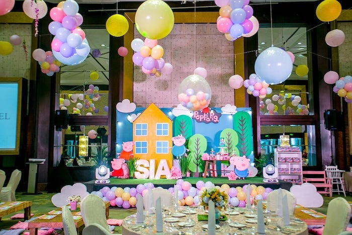 Peppa Pig Birthday Party on Kara's Party Ideas | KarasPartyIdeas.com (28)