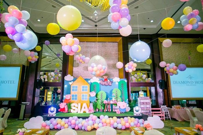 Peppa Pig Birthday Party on Kara's Party Ideas | KarasPartyIdeas.com (27)