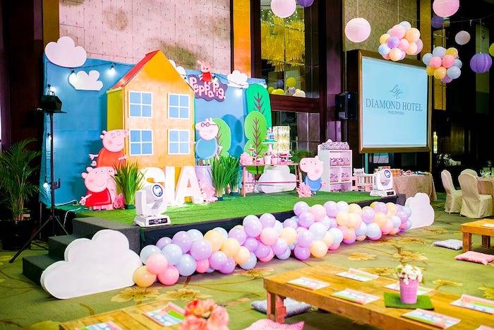 Peppa Pig Birthday Party on Kara's Party Ideas | KarasPartyIdeas.com (25)