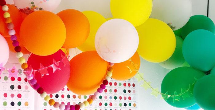 Rainbow Christmas Birthday Party on Kara's Party Ideas | KarasPartyIdeas.com (1)