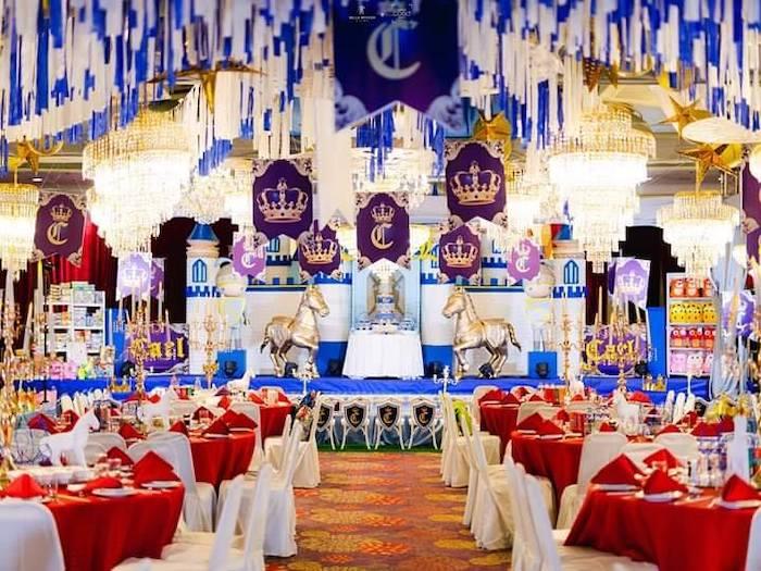 Royal Prince Birthday Party on Kara's Party Ideas | KarasPartyIdeas.com (8)