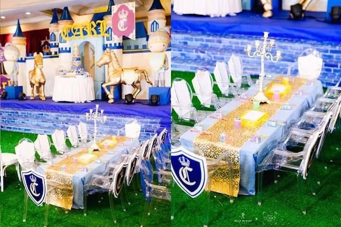 Royal Prince Birthday Party on Kara's Party Ideas | KarasPartyIdeas.com (5)