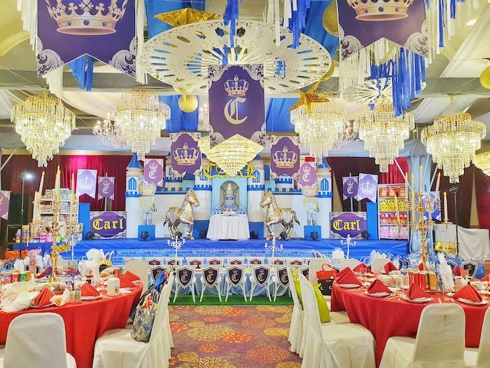Royal Prince Birthday Party on Kara's Party Ideas | KarasPartyIdeas.com (22)