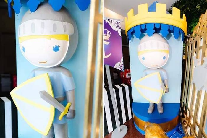 Royal Guards + Knights from a Royal Prince Birthday Party on Kara's Party Ideas | KarasPartyIdeas.com (21)