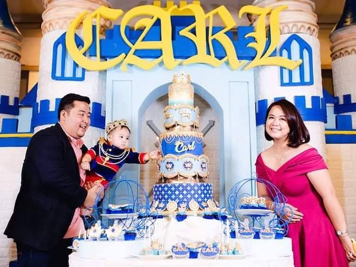 Royal Prince Birthday Party on Kara's Party Ideas | KarasPartyIdeas.com (18)