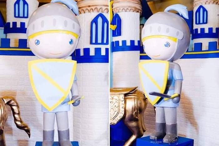 Royal Guards + Knights from a Royal Prince Birthday Party on Kara's Party Ideas | KarasPartyIdeas.com (17)