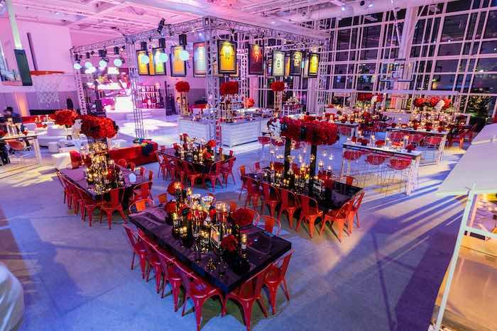 Sports Themed Bar Mitzvah on Kara's Party Ideas | KarasPartyIdeas.com (9)