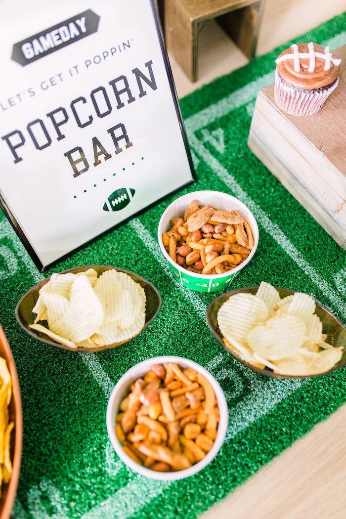 Snacks from a Super Bowl Football Party on Kara's Party Ideas | KarasPartyIdeas.com (17)