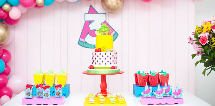 Tutti Frutti Food Truck Birthday Party on Kara's Party Ideas | KarasPartyIdeas.com (2)