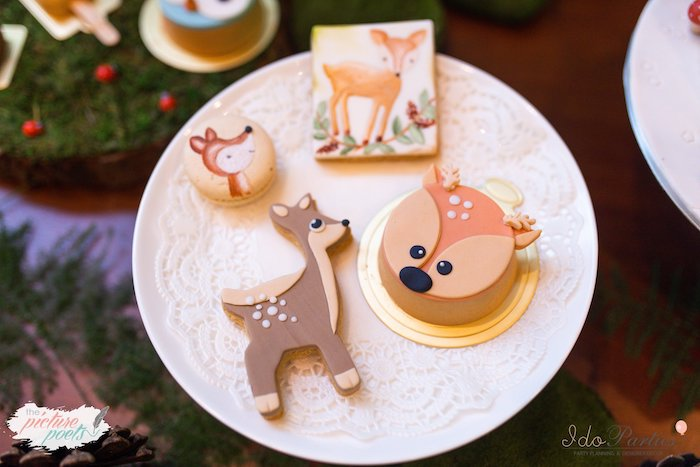 Woodland Themed Sweets from a Woodland Animal Birthday Party on Kara's Party Ideas | KarasPartyIdeas.com (27)