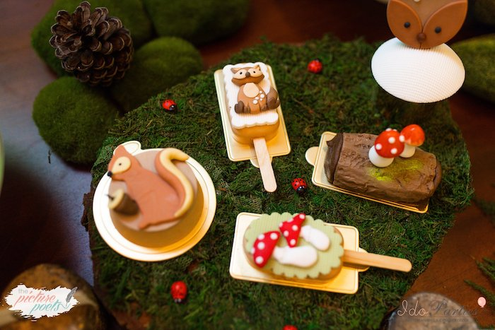 Woodland Themed Sweets from a Woodland Animal Birthday Party on Kara's Party Ideas | KarasPartyIdeas.com (36)