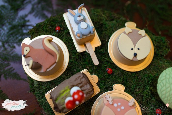 Woodland Themed Sweets from a Woodland Animal Birthday Party on Kara's Party Ideas | KarasPartyIdeas.com (15)