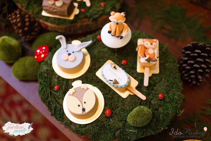 Woodland Themed Sweets from a Woodland Animal Birthday Party on Kara's Party Ideas | KarasPartyIdeas.com (14)