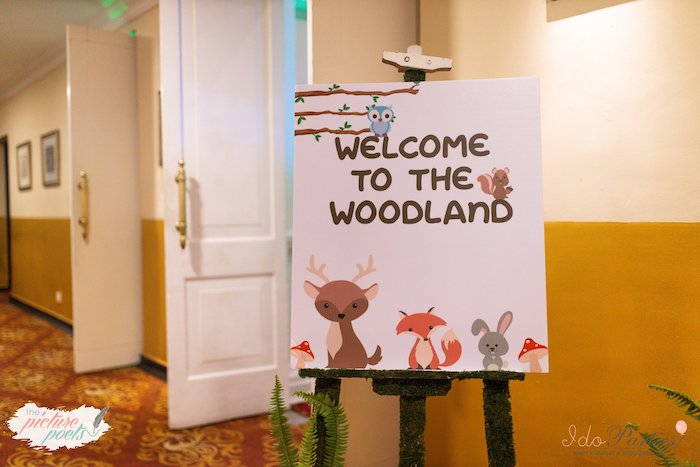 Woodland Animal Birthday Party on Kara's Party Ideas | KarasPartyIdeas.com (13)
