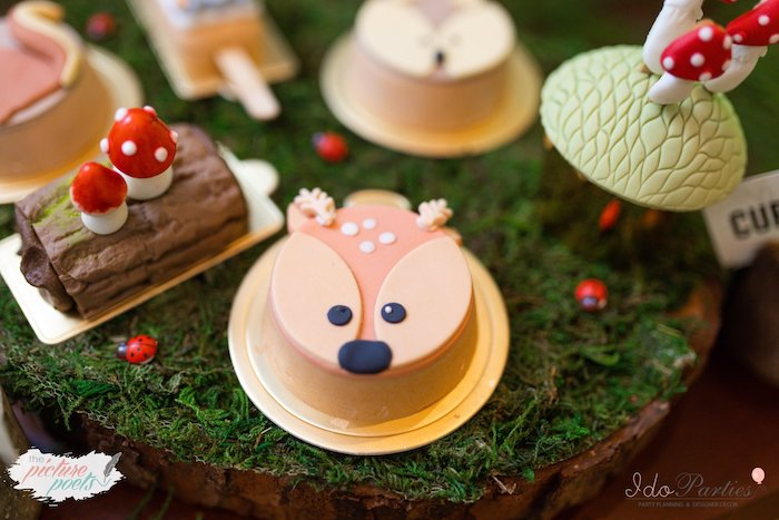 Woodland Animal Birthday Party on Kara's Party Ideas | KarasPartyIdeas.com (11)