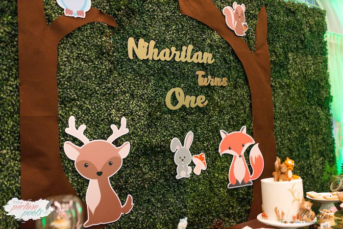 Woodland Animal Birthday Party on Kara's Party Ideas | KarasPartyIdeas.com (8)