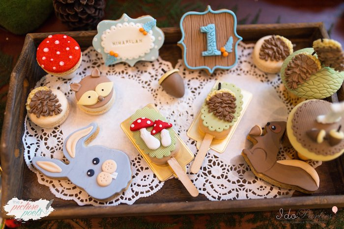Woodland Treats + Sweets from a Woodland Animal Birthday Party on Kara's Party Ideas | KarasPartyIdeas.com (33)
