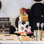 Modern Farm Birthday Party on Kara's Party Ideas   KarasPartyIdeas.com