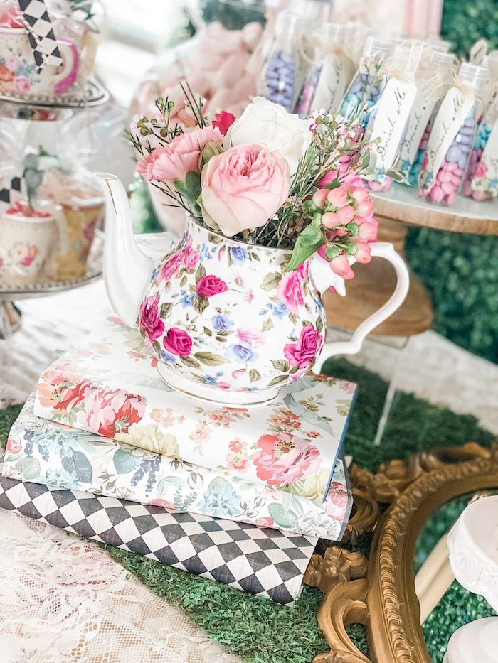 Alice in Wonderland Tea Party on Kara's Party Ideas | KarasPartyIdeas.com (21)