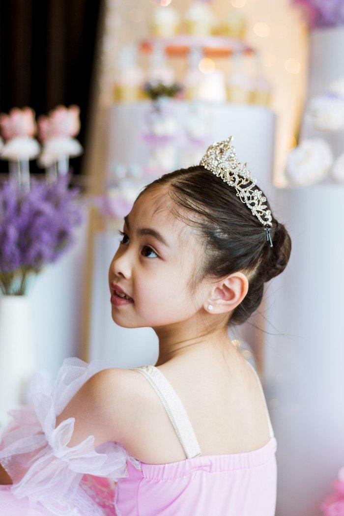 "Ballerina from a Ballerina ""Let's Dance"" Birthday Party on Kara's Party Ideas | KarasPartyIdeas.com (11)"