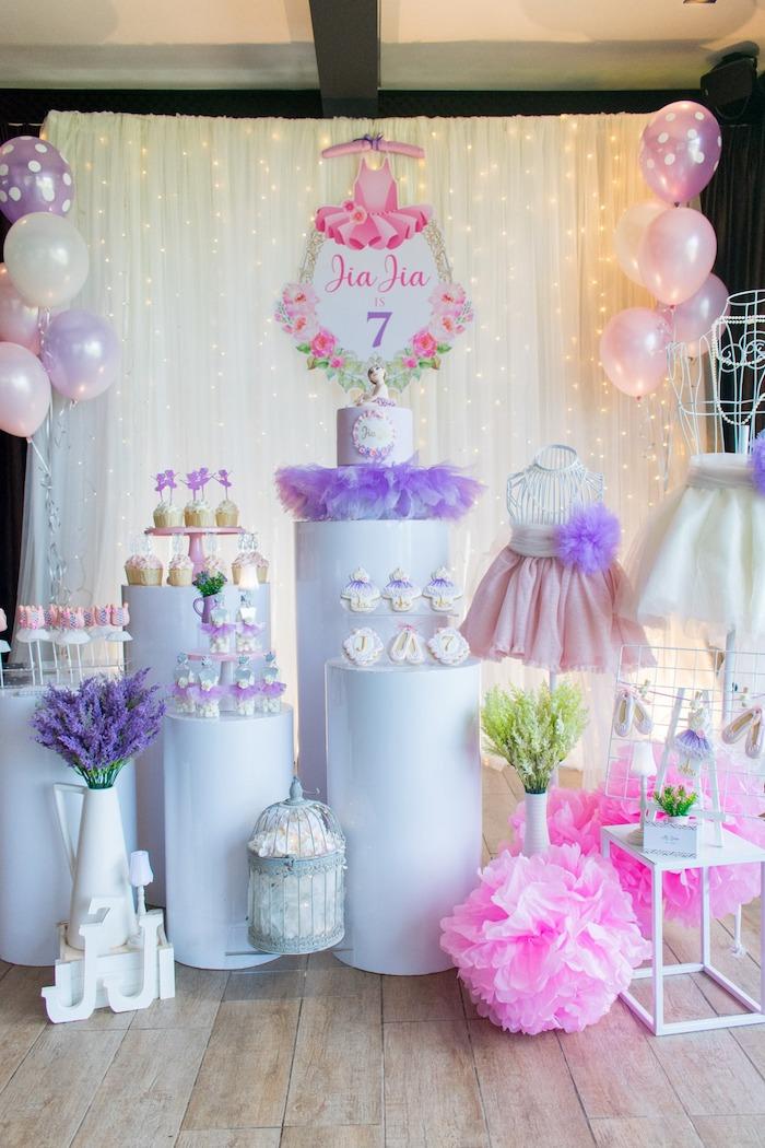 "Ballerina ""Let's Dance"" Birthday Party on Kara's Party Ideas | KarasPartyIdeas.com (19)"