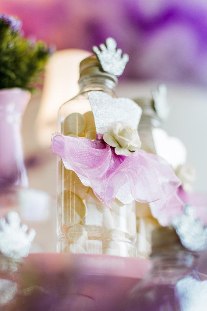 "Tutu-adorned Candy Favor Jar from a Ballerina ""Let's Dance"" Birthday Party on Kara's Party Ideas | KarasPartyIdeas.com (14)"