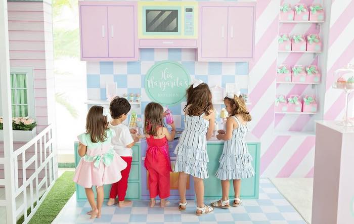 Dollhouse + Pastry Shop Birthday Party on Kara's Party Ideas | KarasPartyIdeas.com (20)