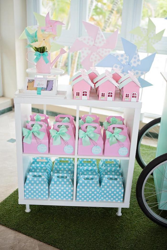 Favor Boxes from a Dollhouse + Pastry Shop Birthday Party on Kara's Party Ideas | KarasPartyIdeas.com (13)