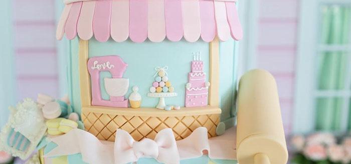 Dollhouse + Pastry Shop Birthday Party on Kara's Party Ideas | KarasPartyIdeas.com (4)