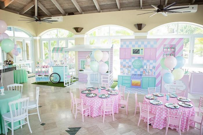 Dollhouse + Pastry Shop Birthday Party on Kara's Party Ideas | KarasPartyIdeas.com (30)