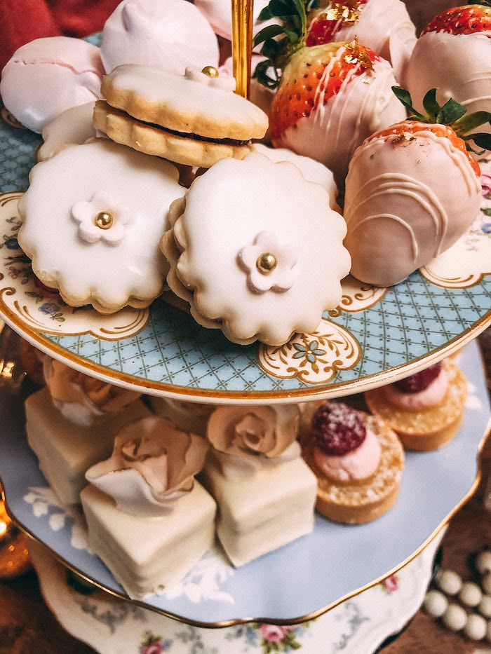 Sweets from a Floral High Tea Baby Shower on Kara's Party Ideas | KarasPartyIdeas.com (39)