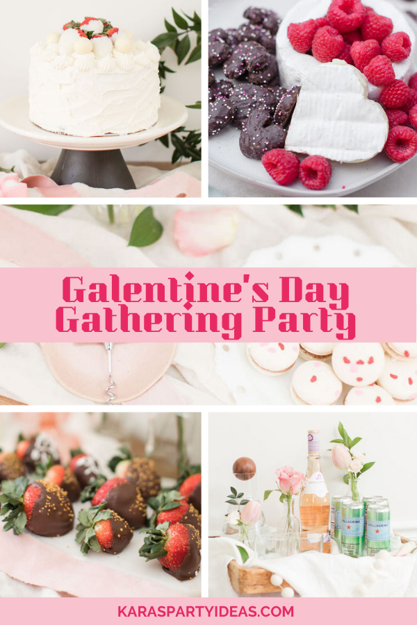 Galentine's Day Gathering Party via Kara's Party Ideas - KarasPartyIdeas.com