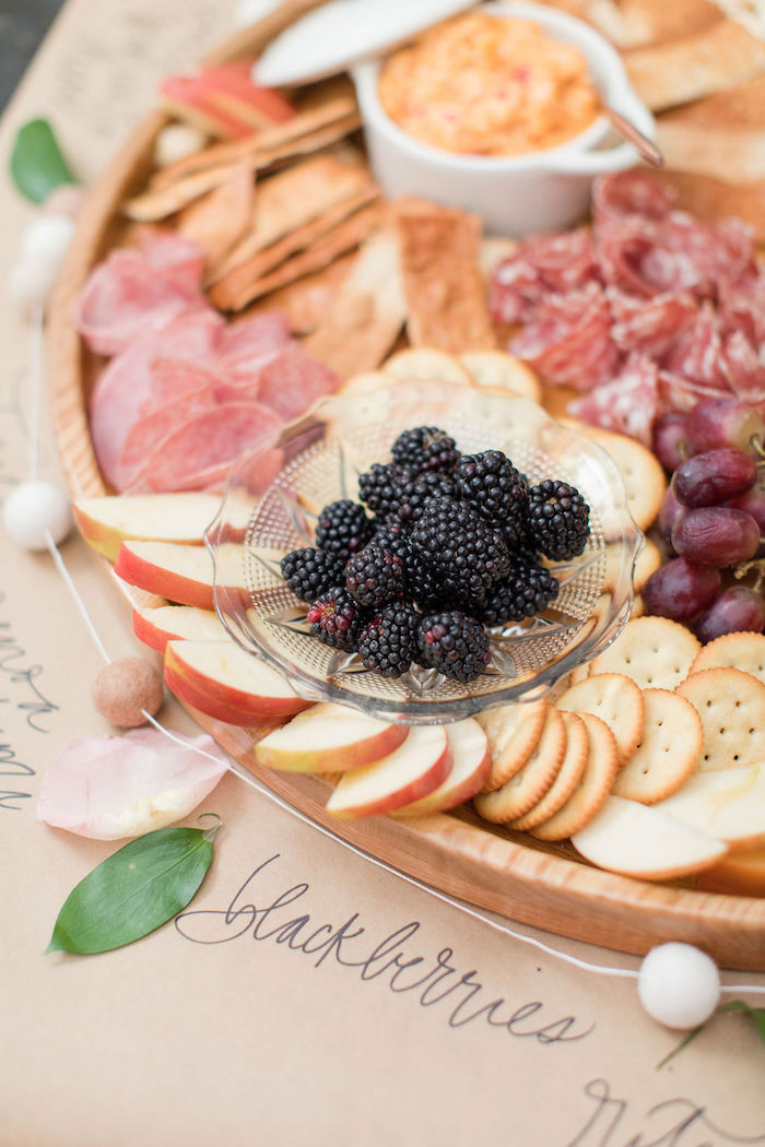 Charcuterie Board from a Galentine's Day Gathering Party on Kara's Party Ideas | KarasPartyIdeas.com (16)